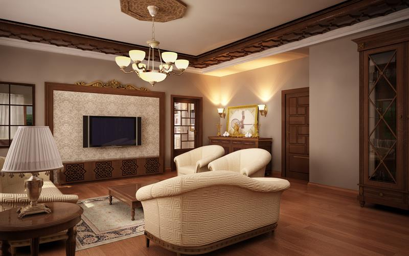 127 Luxury Living Room Designs-65