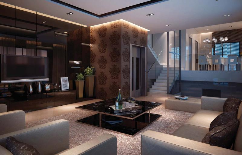 127 Luxury Living Room Designs-69