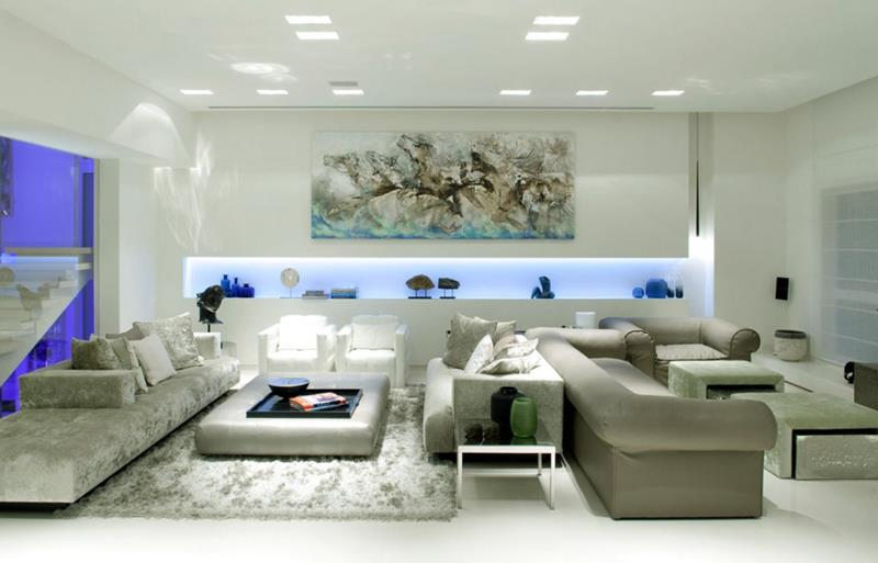 127 Luxury Living Room Designs-7