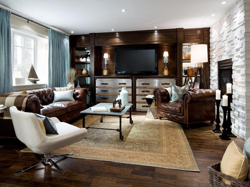 127 Luxury Living Room Designs-79