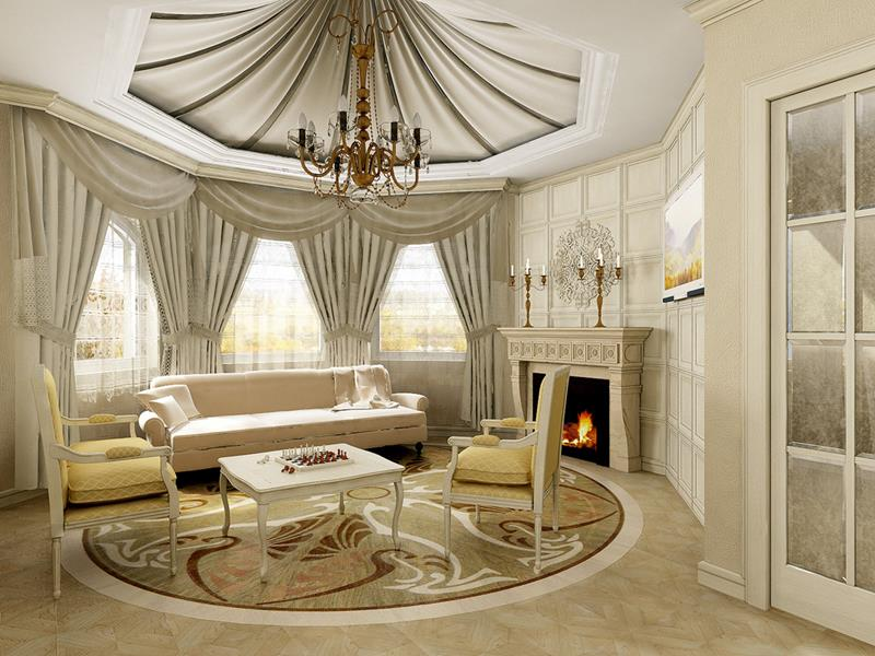 127 Luxury Living Room Designs-8