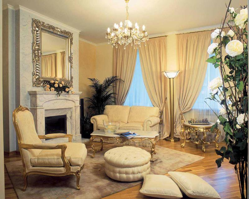 127 Luxury Living Room Designs-84