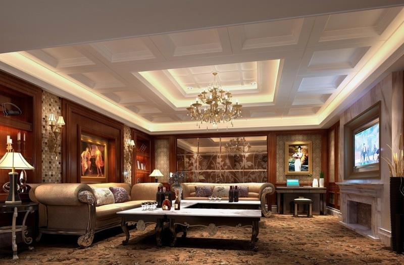 127 Luxury Living Room Designs-title