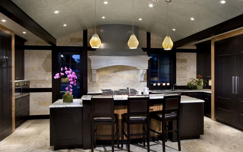133 Luxury Kitchen Designs-116