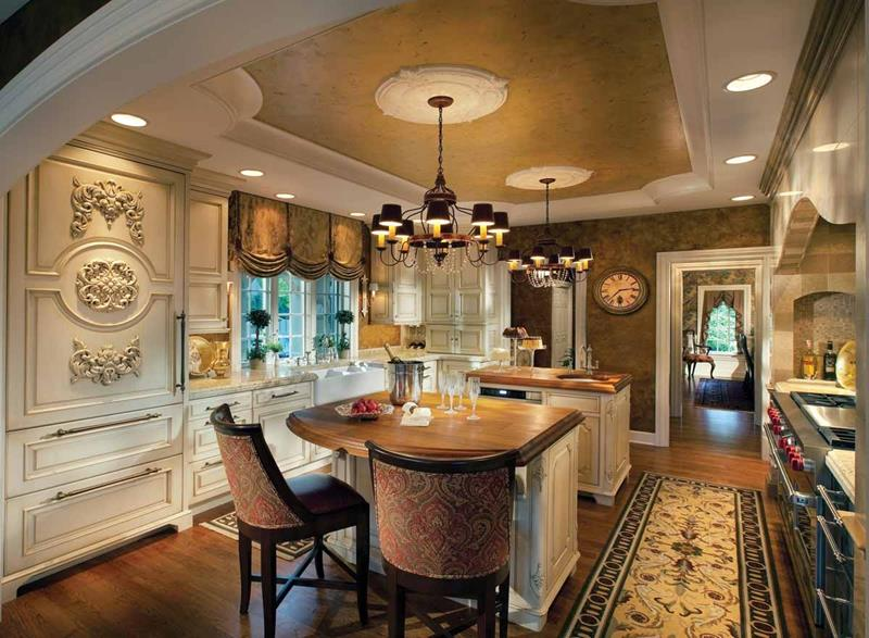 133 Luxury Kitchen Designs-121