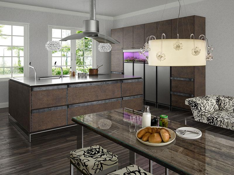 133 Luxury Kitchen Designs-127