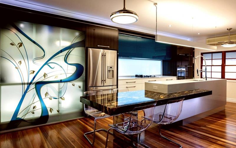 133 Luxury Kitchen Designs-128
