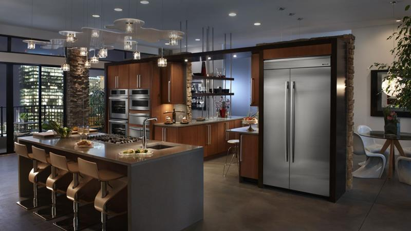 133 Luxury Kitchen Designs-132
