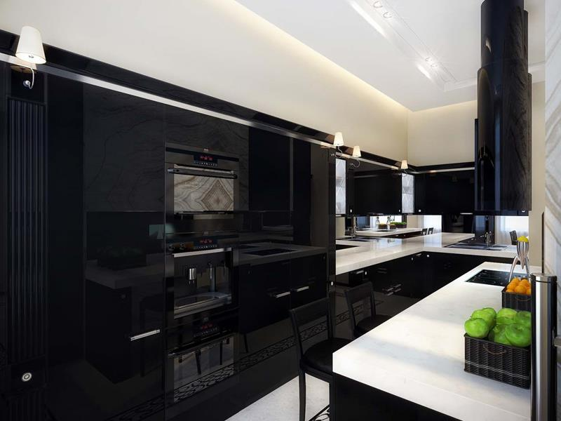 133 Luxury Kitchen Designs-25