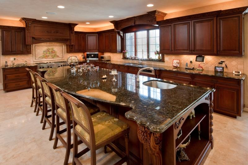 133 Luxury Kitchen Designs-30
