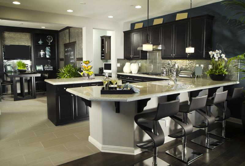 133 Luxury Kitchen Designs-38