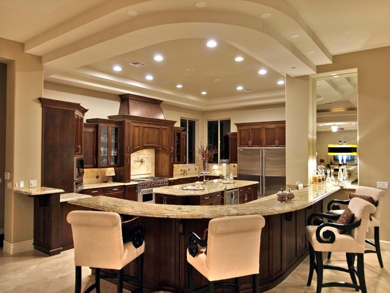 133 Luxury Kitchen Designs-8