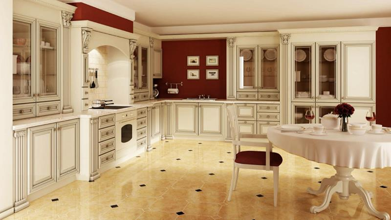 133 Luxury Kitchen Designs-92
