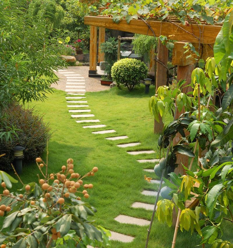18 Inspirational and Beautiful Backyard Gardens-12