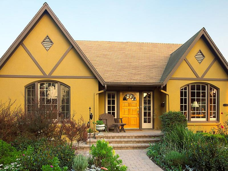 20 Awesome and Colorful Home Exteriors-20