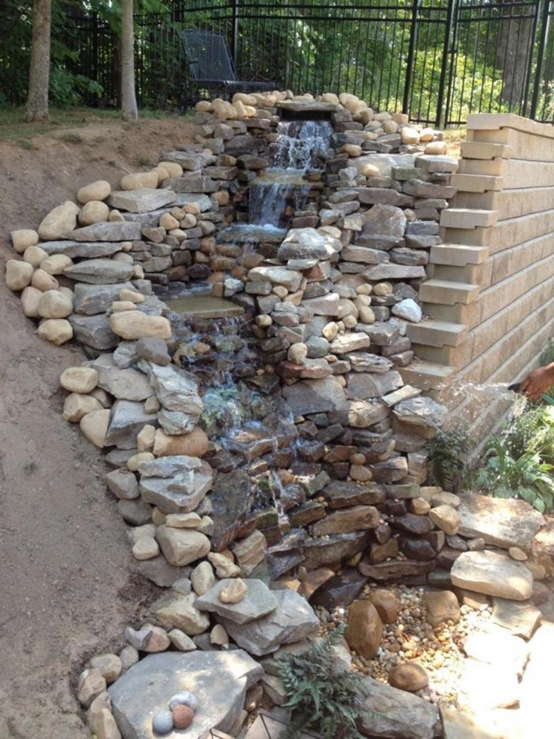 20 Backyards With Stunning Waterfalls-11