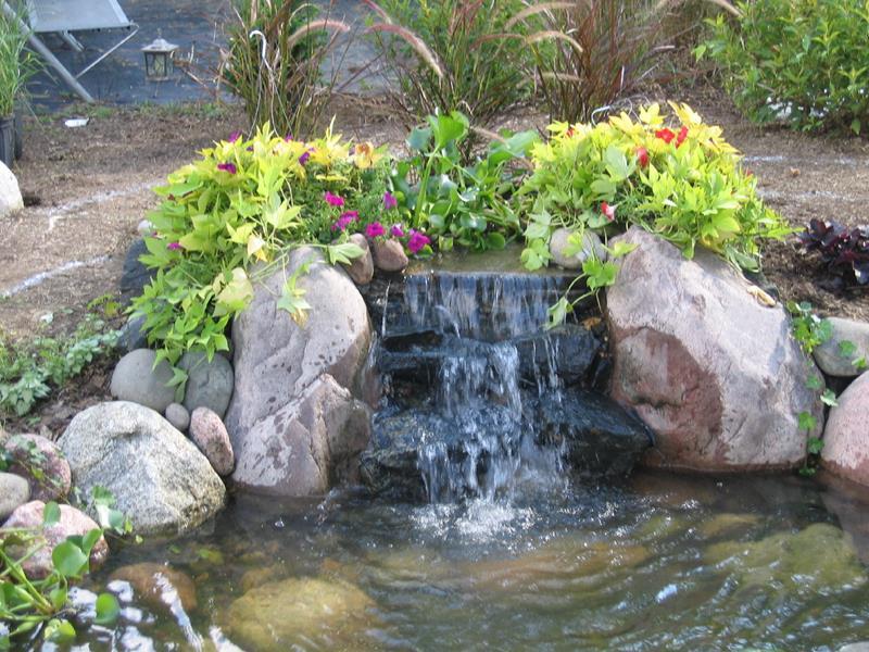 20 Backyards With Stunning Waterfalls-13