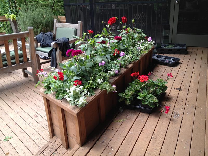 21 Beautiful Flower Box Design Ideas-title