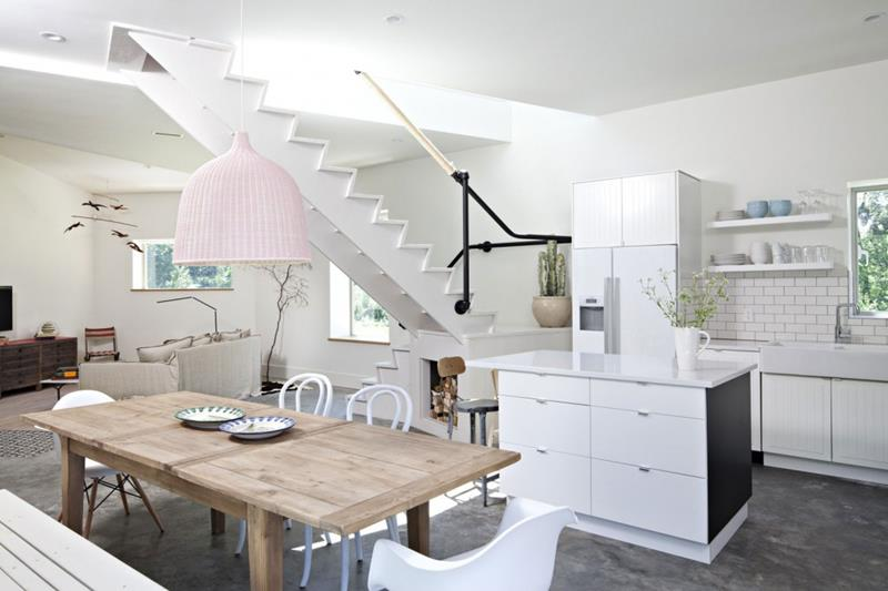 21 Dining Rooms With Beautiful Concrete Floors-1