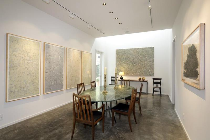 21 Dining Rooms With Beautiful Concrete Floors-21