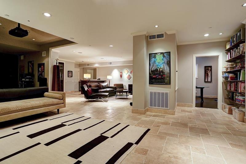 21 Finished Basements For Having Fun-18