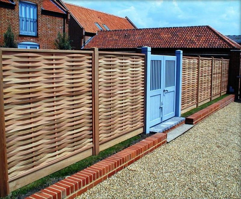 21 Totally Cool Home Fence Design Ideas-19