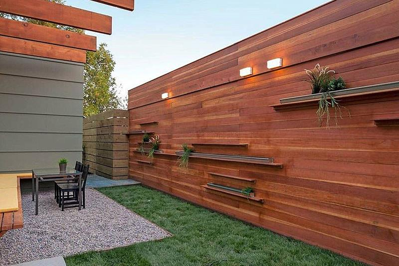21 Totally Cool Home Fence Design Ideas-21