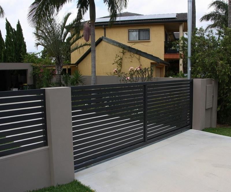 21 Totally Cool Home Fence Design Ideas-8