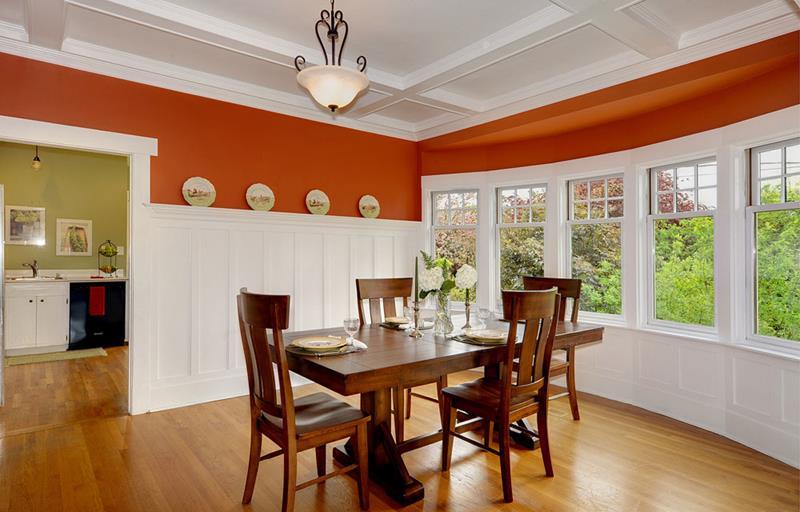 22 Amazing Craftsman Dining Room Designs-1