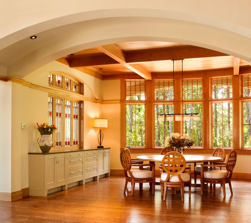 22 Amazing Craftsman Dining Room Designs-11