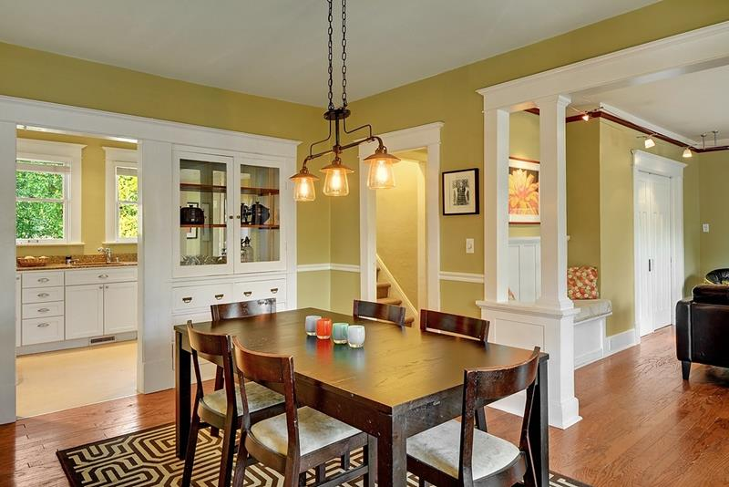 22 Amazing Craftsman Dining Room Designs-12