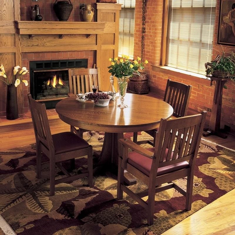22 Amazing Craftsman Dining Room Designs-14