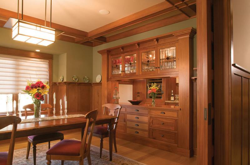 22 Amazing Craftsman Dining Room Designs-9