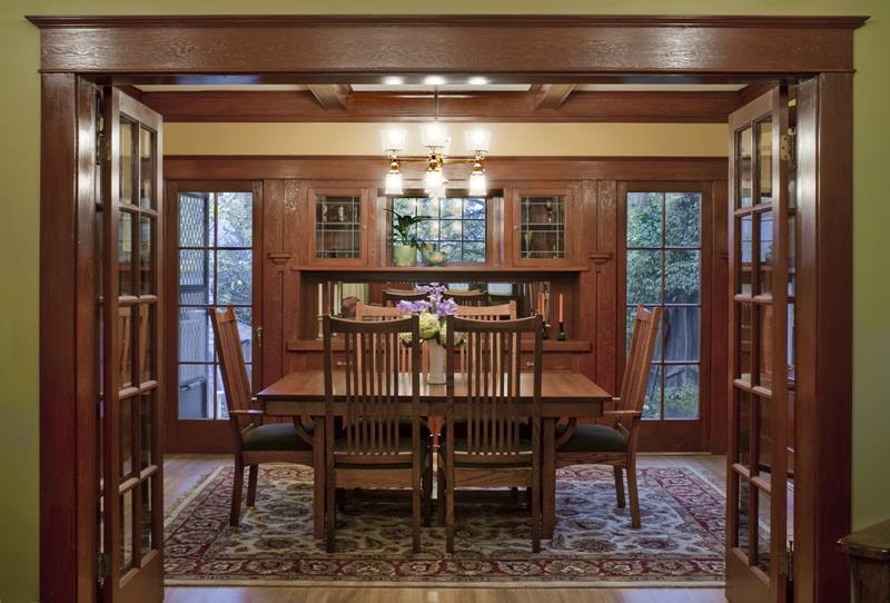 22 Amazing Craftsman Dining Room Designs-title