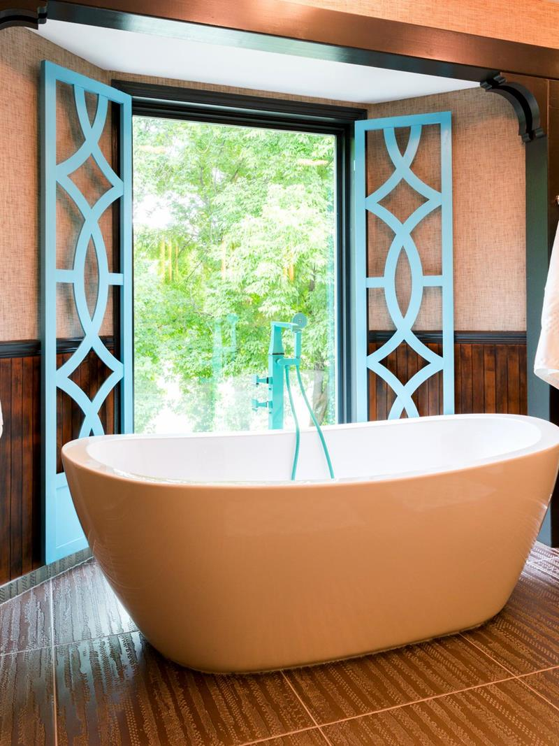 23 Charming and Colorful Bathroom Designs-12