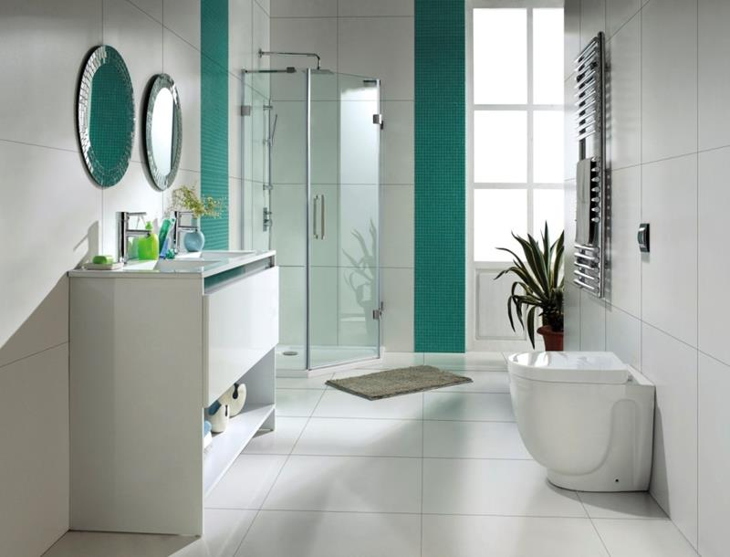 23 Charming and Colorful Bathroom Designs-13