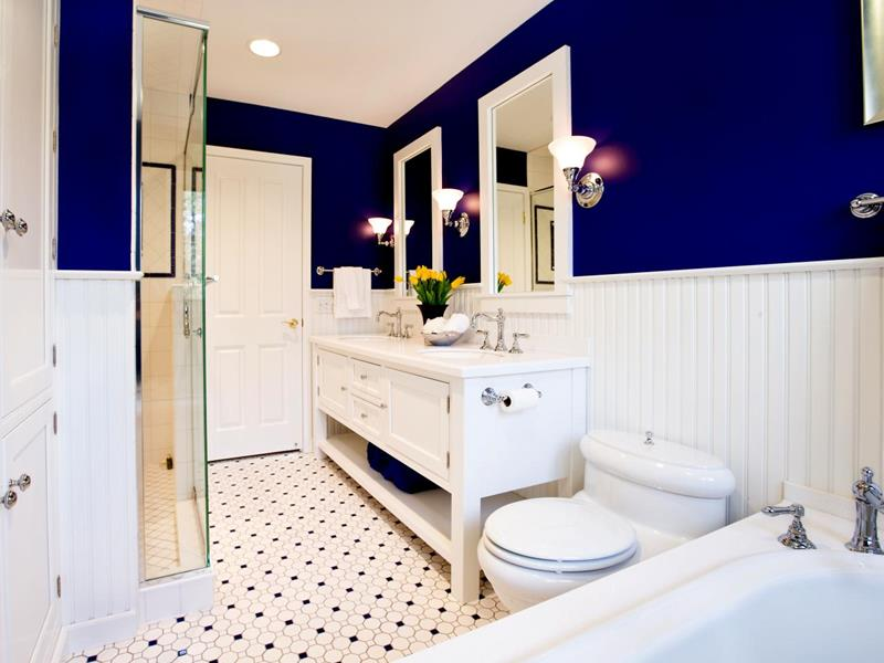 23 Charming and Colorful Bathroom Designs-14
