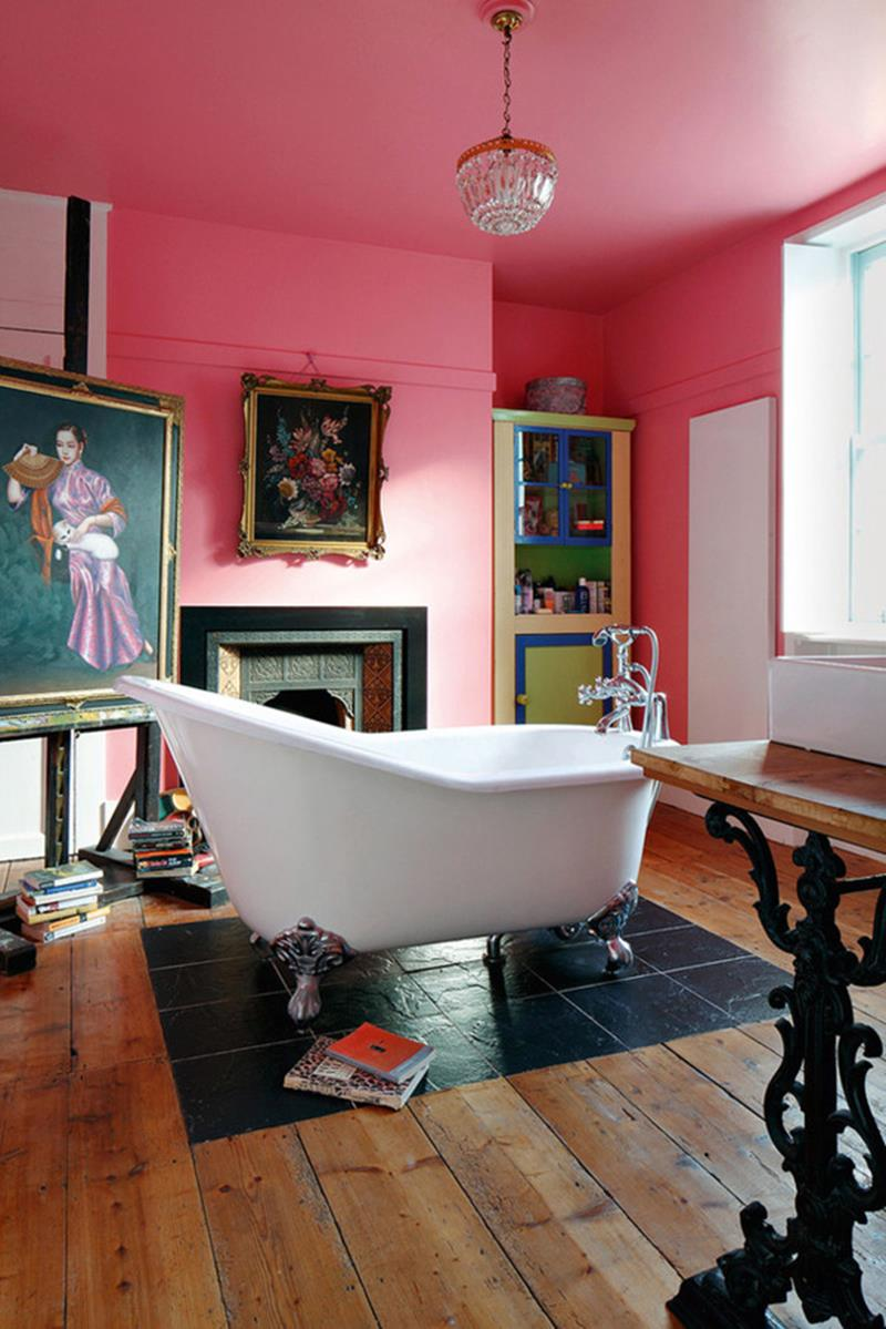 23 Charming and Colorful Bathroom Designs-16