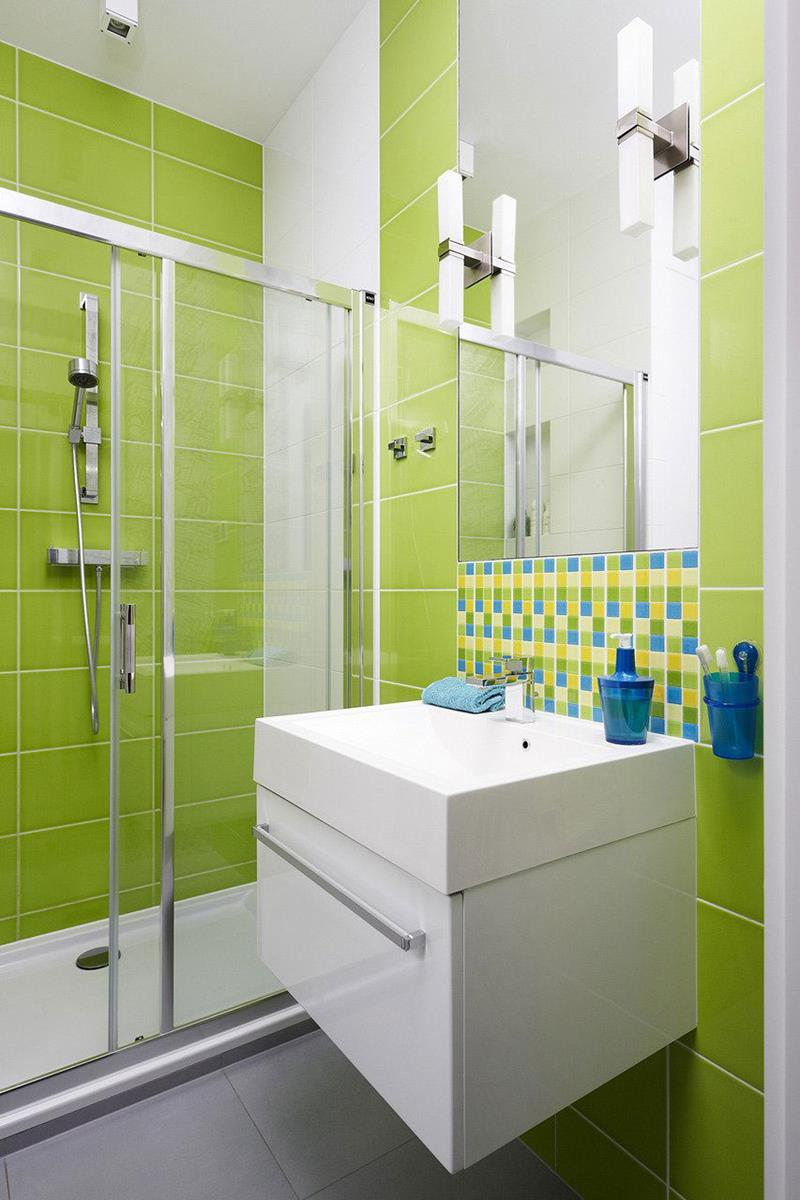 23 Charming and Colorful Bathroom Designs-7