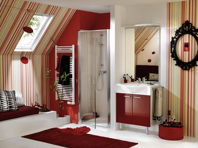 23 Charming and Colorful Bathroom Designs-8