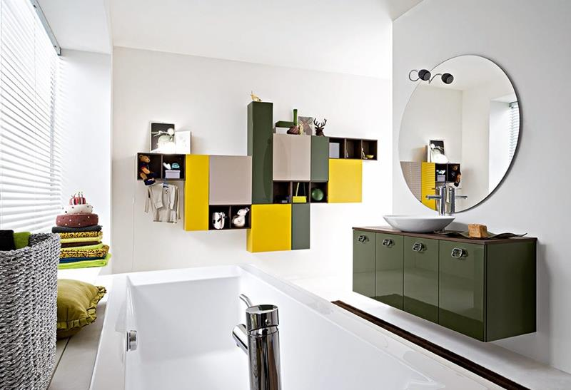 23 Charming and Colorful Bathroom Designs-title