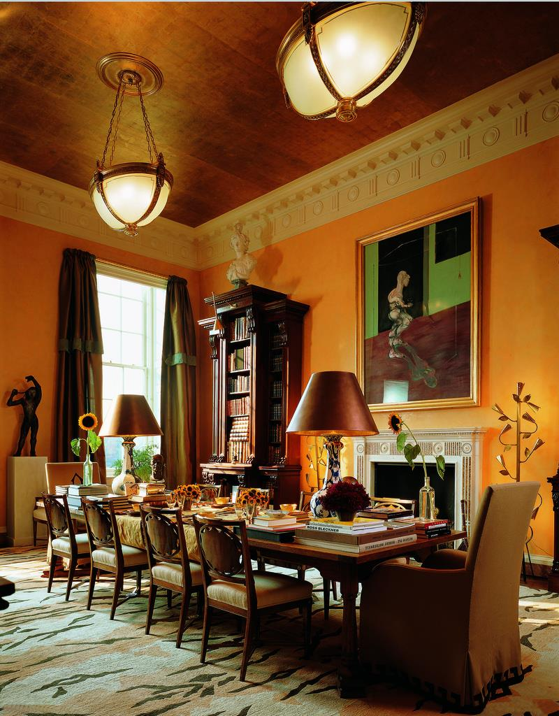 23 Designs for Epically Large Dining Rooms-13