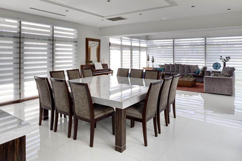 23 Designs for Epically Large Dining Rooms-15