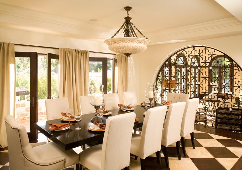 23 Designs for Epically Large Dining Rooms-16