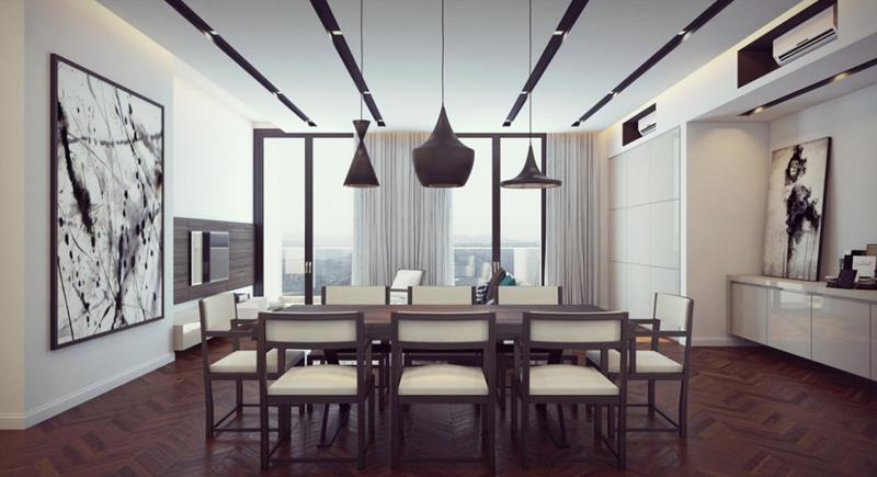 23 Designs for Epically Large Dining Rooms-18