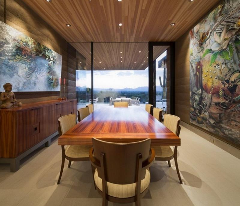 23 Designs for Epically Large Dining Rooms-20