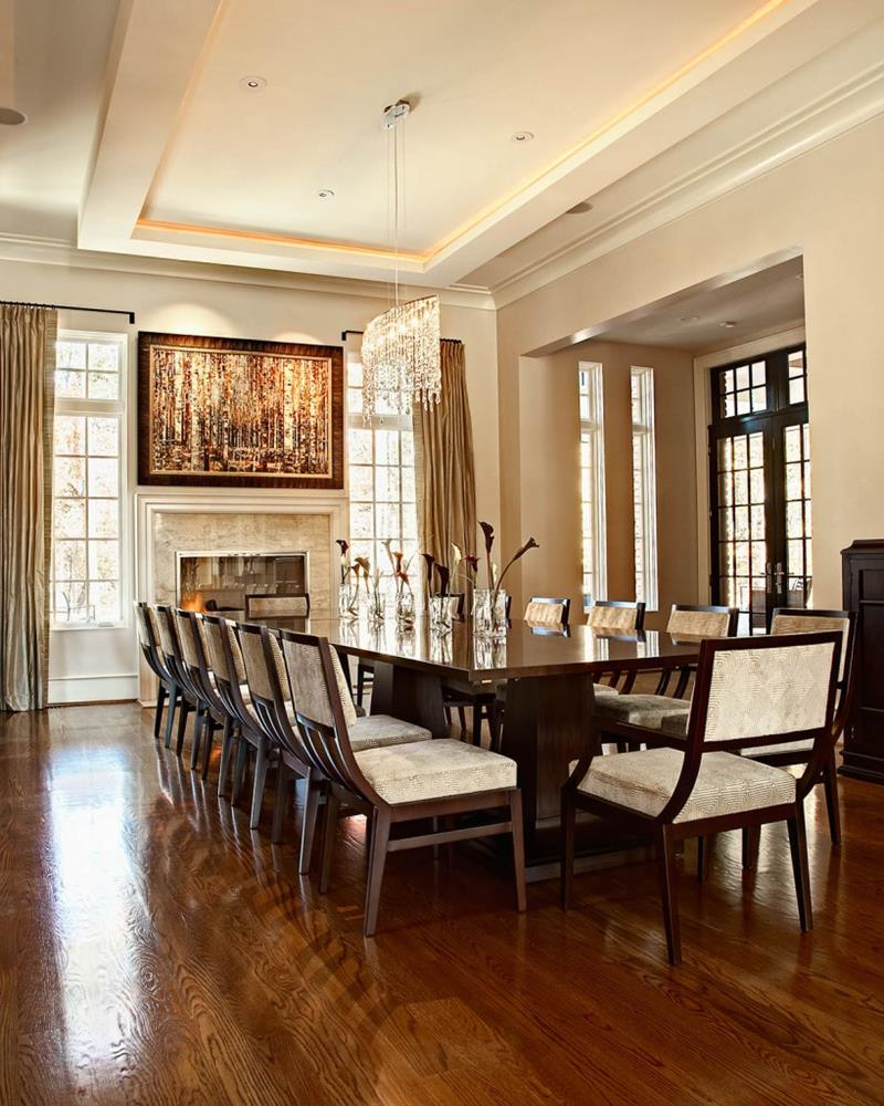 23 Designs for Epically Large Dining Rooms-3
