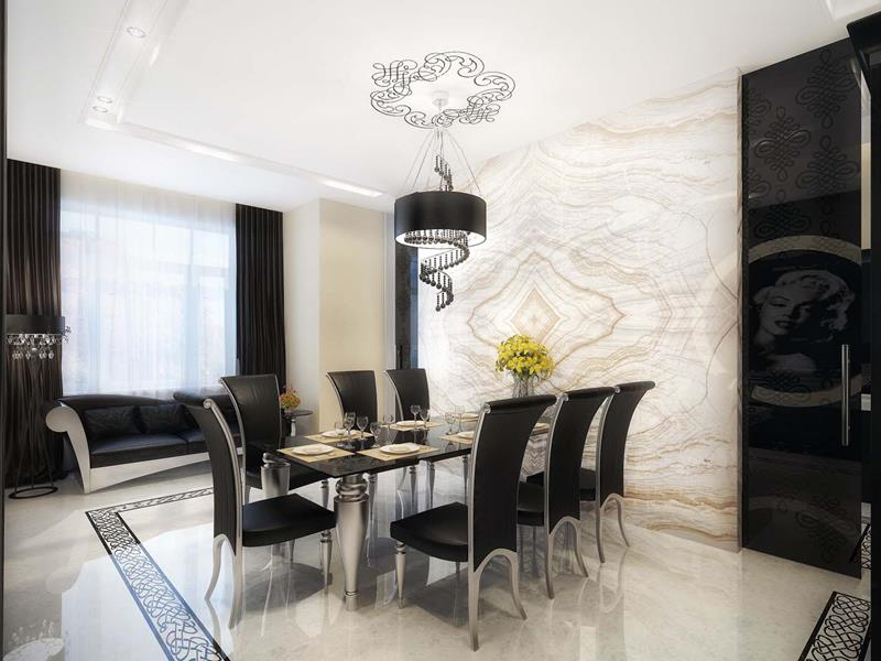 23 Sleek Contemporary Dining Room Designs-1