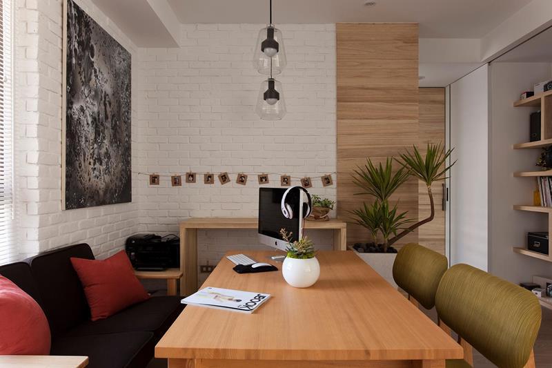 23 Sleek Contemporary Dining Room Designs-13
