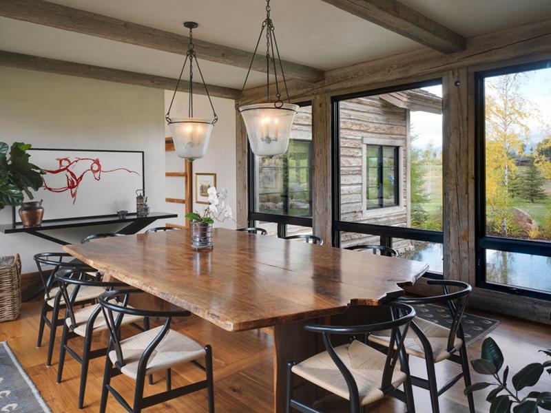 23 Sleek Contemporary Dining Room Designs-19
